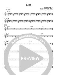 Closer Rhythm Acoustic Guitar Chart Hillsong Worship