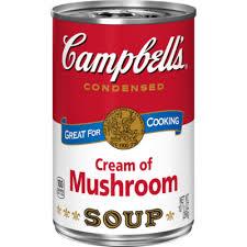 campbell s cream of mushroom soup. Beautiful Campbell Cream Of Mushroom Soup With Campbell S Of Campbellu0027s