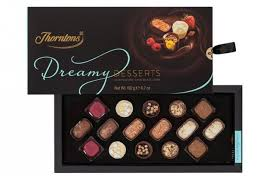 dreamy desserts chocolate box from thorntons