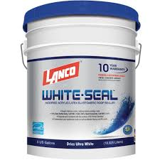 white seal elastomeric roof coating