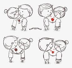 romance love couple cartoon love