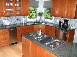 black granite countertops ideas