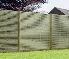 Grange contemporary fence panels in sue within this garden.