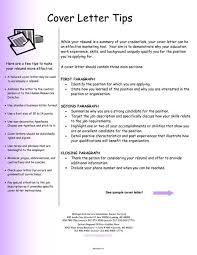 Cover Letter Format For Resume Rupertgrintfansite Within Tips For A