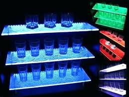 charming led light shelf light up shelves light up shelves elegant led lighting by illuminated glass