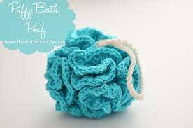 Free Crochet Patterns For Scrubbies Awesome Puffy Bath Pouf Free Pattern The Stitchin Mommy