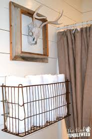 Wall towel storage Basket 20 Really Inspiring Diy Towel Storage Ideas For Every Small Bathroom Pinterest 20 Really Inspiring Diy Towel Storage Ideas For Every Small Bathroom