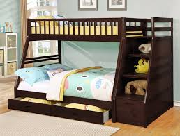 kids bunk bed with stairs. Bunk Bed With Owl Comforter. Kids Stairs