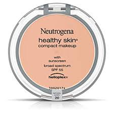 amazon neutrogena healthy skin pact makeup foundation broad spectrum spf 55 natural ivory 20 35 oz face powders beauty