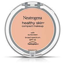 amazon neutrogena healthy skin pact makeup foundation broad spectrum spf 55 natural ivory 20 35 oz face powders beauty