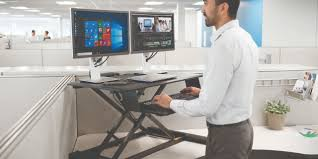 the smart way to stand and work smartfit sit stand desk