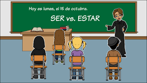 Ser Vs Estar Chart Ser Vs Estar Conjugate Ser Estar In Spanish Using Visuals