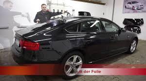 Scheiben Tönen In Hamburg Bergedorf Audi A5 Sportback Youtube