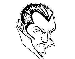 Small Picture Halloween Dracula Coloring Pages Coloring Man