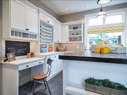 home office craft room ideas. fabulous craft room boasts gray shiplap clad walls framing white shaker cabinets adorned with oilrubbed bronze cabinet pulls alongside quartz counters home office ideas t