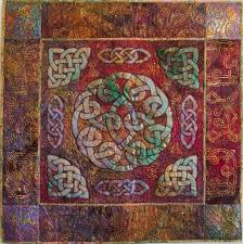 http://www.jeanettesfabrictodyefor.com/images/Photogallery/Quilts ... & Sara's Circle Knot quilt features painted Celtic designs in the background.  So this works, a narrow border, then a nine patch border, with celtic  designs, ... Adamdwight.com