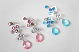 how to diy bling bling rhinestone chandelier earrings