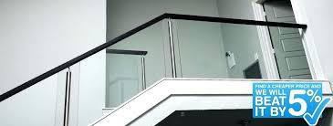 glass railing cost glass railings for stairs stainless steel stair parts modern railing components use code glass railing cost