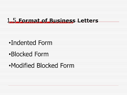 Indented Format Letter Image collections - Letter Samples Format