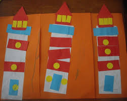 Ordinary World: Crafting with the kids!   Lighthouse crafts, Lighthouse, Lighthouse  keepers lunch