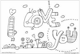 Small Picture I Love You Coloring Pages Printable