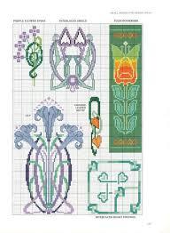 Art Deco Cross Stitch Charts Gallery Ru 90 16 Zinaidar Cross Stitch Art