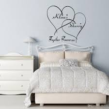 bedroom wall decor romantic. Contemporary Bedroom Home Interior Vanity Bedroom Wall Art Love Decals Customer Made Couples  Name Romantic Personalised From Throughout Decor G