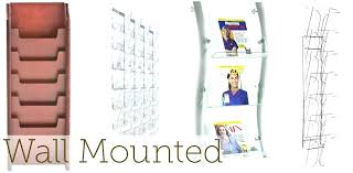Magazine Holder Australia Fascinating Acrylic Magazine Holder Australia Acrylic Magazine Holder Wall