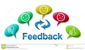 Feedback With Colourful Comments Symbol Stock Illustration ...