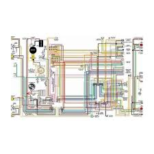 ford fairlane color laminated wiring 1929 Model A Wiring Diagram 1929 Ford Model a Body Dimensions