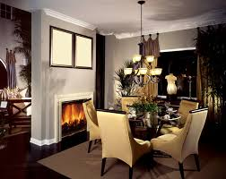 dining room design round table. Nothing Adds Warmth To A Dining Room Like Fireplace. This Cozy Features Round Table, Which Is Best For With Limited Square Footage. Design Table I