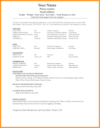 Resume Template Microsoft Word 2010 Sop Example