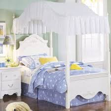 Bedroom: Twin Canopy Beds For Girls - 5 - Twin Canopy Beds For Girls