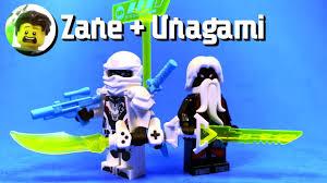 Custom LEGO Zane and Unagami Minifigures from Ninjago Prime Empire - YouTube