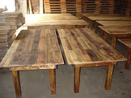 simple rustic kitchen tables