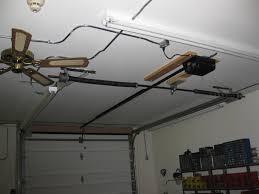 low headroom garage door openers