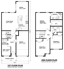 Small 3 Bedroom Cabin Plans Small 2 Storey House Plans Pinteres