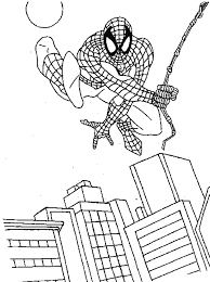 Small Picture spiderman color page Spiderman Coloring Pages For Kids Free To