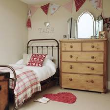 Small Bedroom Girls Girls Bedroom With Bunting And Iron Bedstead Childrens Rooms Girl
