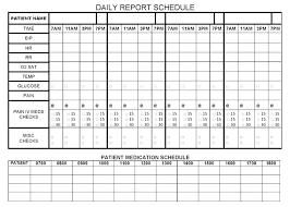 X Nursing Staff Schedule Template Printable Best Hour Shift Work
