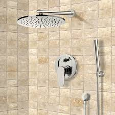 shower faucet remer sfh6501 np satin nickel shower system with 12