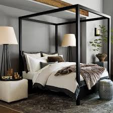 The dark, rich finish on the solid oak frame highlights its marvelous,  architectural nature. Handcrafted in France, this bed  which is priced at  $2,395 ...