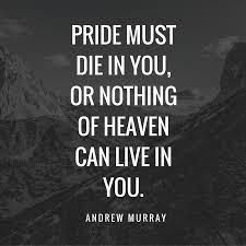 Christian Quotes About Pride