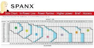 Assets By Spanx Size Chart Spanx Higher Power Size Chart Smartmarathontraining Com