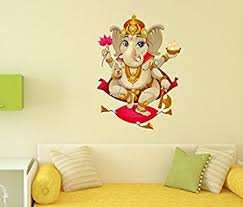 Small Picture Buy Decals Design Shree Ganesh PVC Vinyl Wall Decal 70 cm x 50 cm
