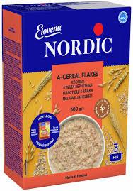 <b>Хлопья NordiC</b> 4 вида зерновых 600 г (6411200105770) – купить в ...
