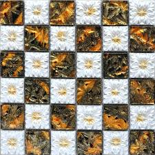 Small Picture Porcelain and Glass Wall Tile Backsplash Fireplace Crystal Mosaic