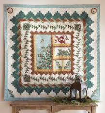 Chickadee Window Quilt Kit from Keepsake Quilting. Uses Chickadees ... & Chickadee Window Quilt Kit from Keepsake Quilting. Uses Chickadees &  Berries by Jackie Robinson for Adamdwight.com