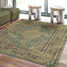 weisman yellow blue area rug home distressed medallion