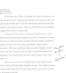 reflection essay format co reflection essay format